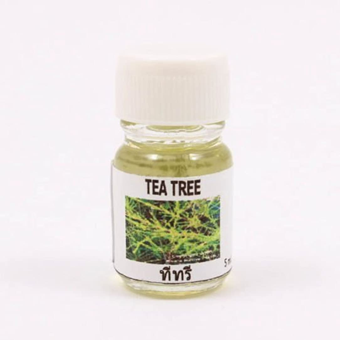 紛争推進裕福な6X Tea Tree Aroma Fragrance Essential Oil 5ML (cc) Diffuser Burner Therapy