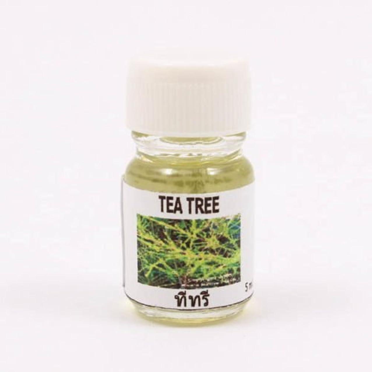 一杯アクセスできない失われた6X Tea Tree Aroma Fragrance Essential Oil 5ML (cc) Diffuser Burner Therapy