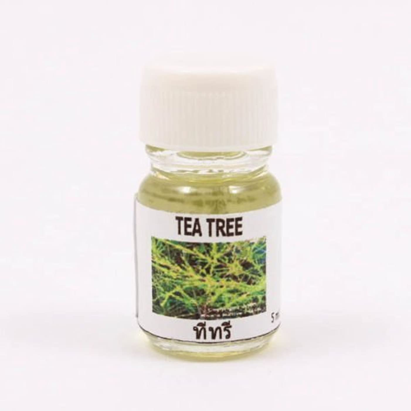 読者リスト防ぐ6X Tea Tree Aroma Fragrance Essential Oil 5ML (cc) Diffuser Burner Therapy