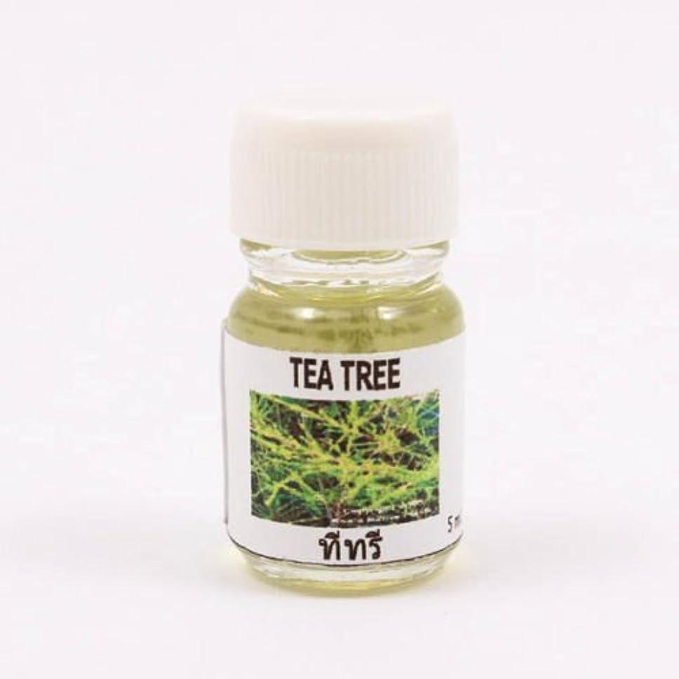 がんばり続ける送信するシンカン6X Tea Tree Aroma Fragrance Essential Oil 5ML (cc) Diffuser Burner Therapy