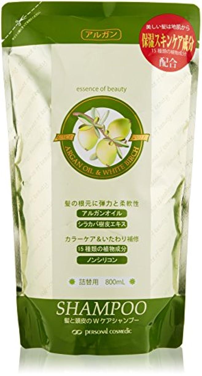 ロープ酸不誠実PC アルガケア ナチュラル シャンプー詰替用800ml