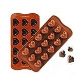 新品!チョコレート型 鋳型模型モールド ケーキ型DIY石鹸用製菓用お菓子型誕生日 記念日 プレゼント雑貨 /C-zqzb0932 (A-03)