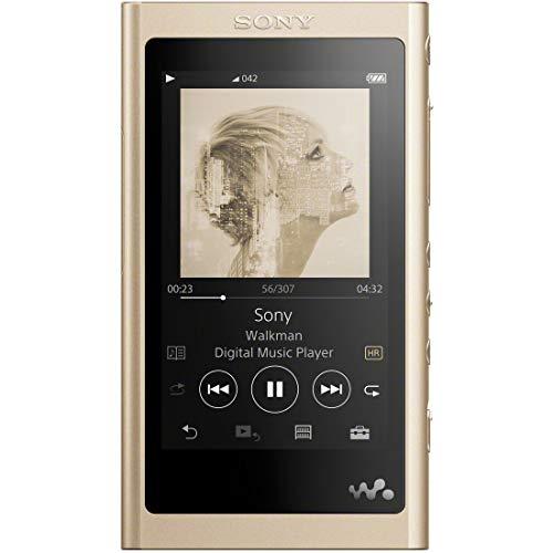 ソニー SONY ウォークマン Aシリーズ 16GB NW-A55 : Bluetooth microSD対応 ハイレゾ対応 最大45時間連続再生 2018年モデル ペールゴールド NW-A55 N