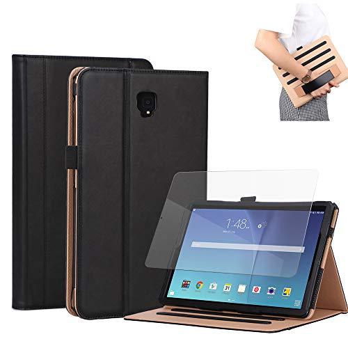 Samsung Galaxy Tab S4 10.5 SM-T830 PU シェル,バックシェル Leather Cases プレミアム PU レザー 財布 シェル Leather Cases 〜と キックスタンド クレジット カード スロット 現金 ホルダー フリップ カバー の Samsung Galaxy Tab S4 10.5 SM-T830 PU