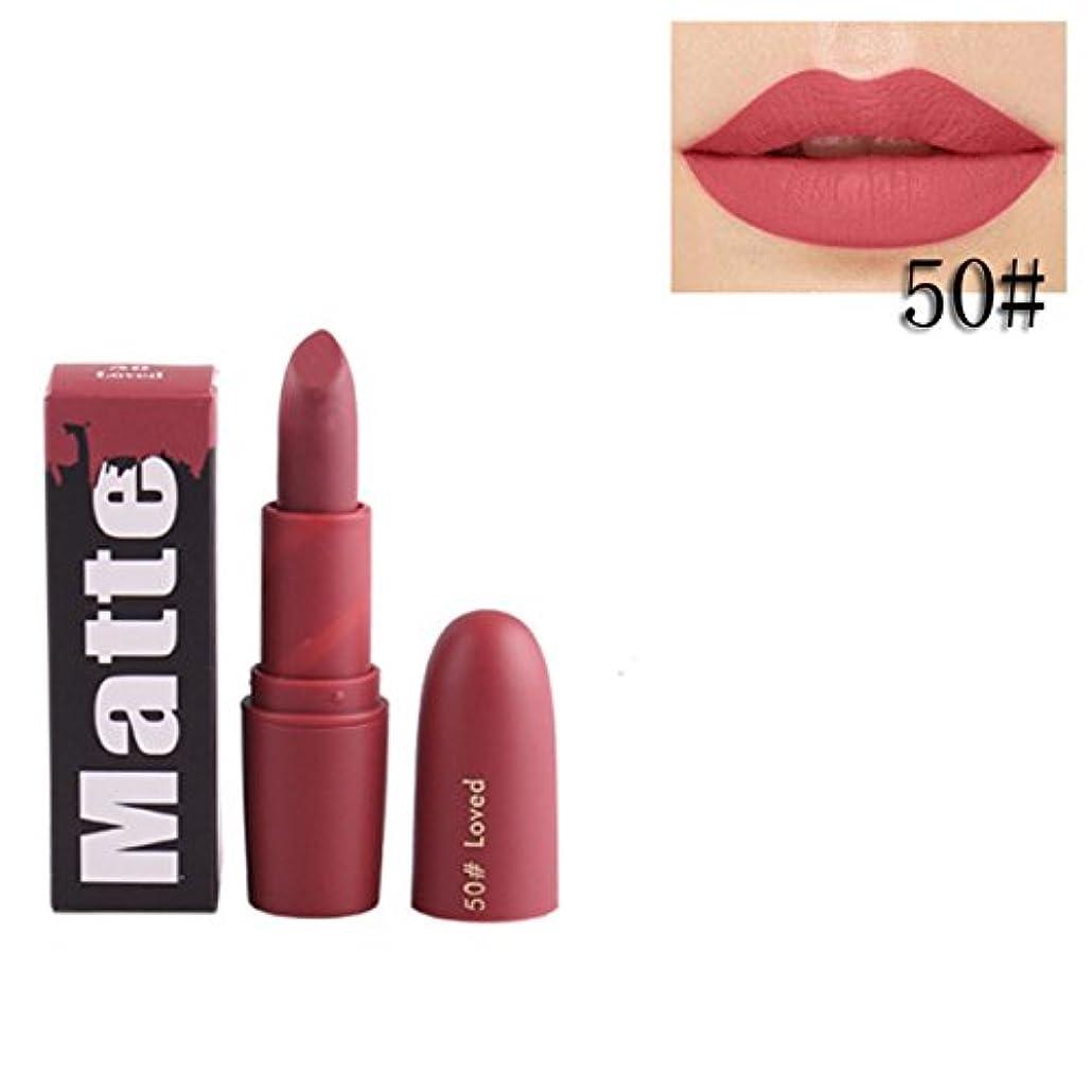 最初先史時代のドック女性口紅 BOBOGOJP 欧米風 ミストマット リップグロス 18色選択 保湿 持続性 魅力的 リップリップスティック モイスチャライジング リップスティックメイク 恋する唇 おすすめリップスティック (N)