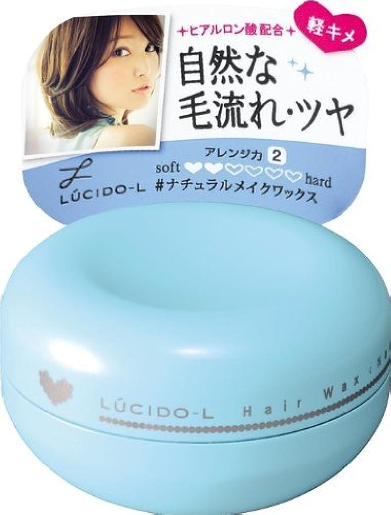 プラグ腸会計士LUCIDO-L (ルシードエル) #ナチュラルメイクワックス 60g