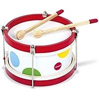 Janod マイファースト?ドラム 木のおもちゃ 初めての楽器 TYJD07608