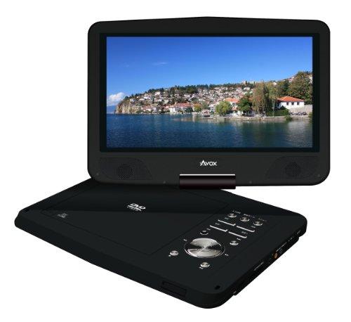 AVOX 10インチポータブルDVDプレーヤー ADP-1040CK ブラック