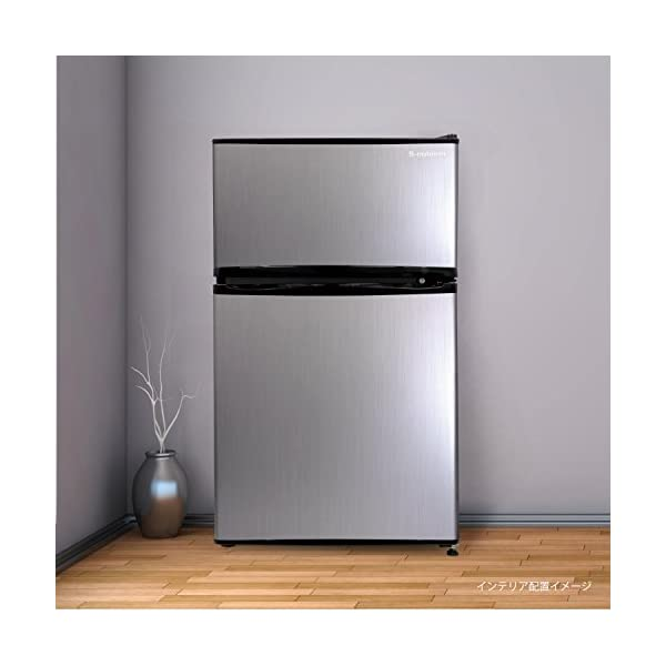 エスキュービズム 2ドア冷蔵庫 WR-2090...の紹介画像3
