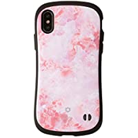 iFace First Class Marble iPhone X ケース 耐衝撃/ピンク