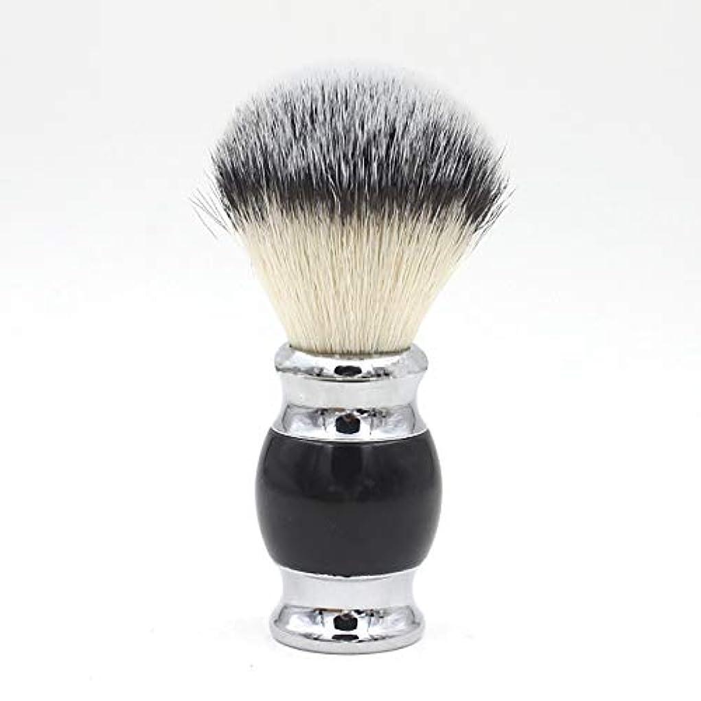 1 シェービングブラシシェービング ひげブラシ ブラシ メンズ 毛 洗顔 髭剃り 理容 泡立ち