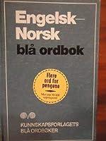 Engelsk Norsk Bla Ordbok