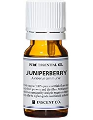 ジュニパーベリー 10ml インセント アロマオイル AEAJ 表示基準適合認定精油