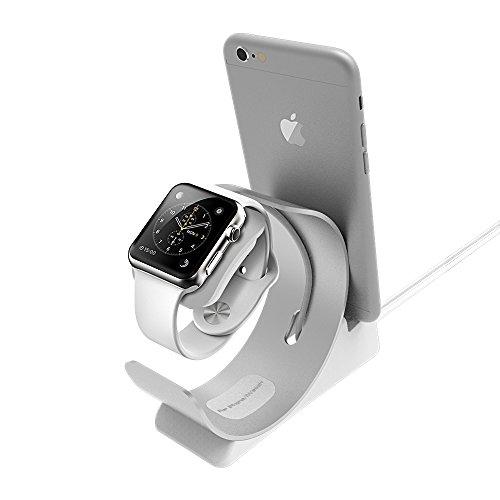 Apple watch 2,iphone 7/7 plus充電 Archeer  iWatch / iPhone / iPad / iPod充電スタンド 充電クレードル 2in1充電スタンド  クレードル ドック