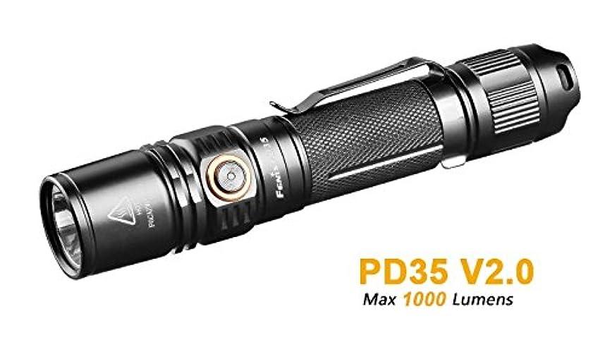 代表団死ぬトークFENIX(フェニックス)PD35ブラック[140時間照射(10のルーメン)850ルーメン/アップの最大出力】