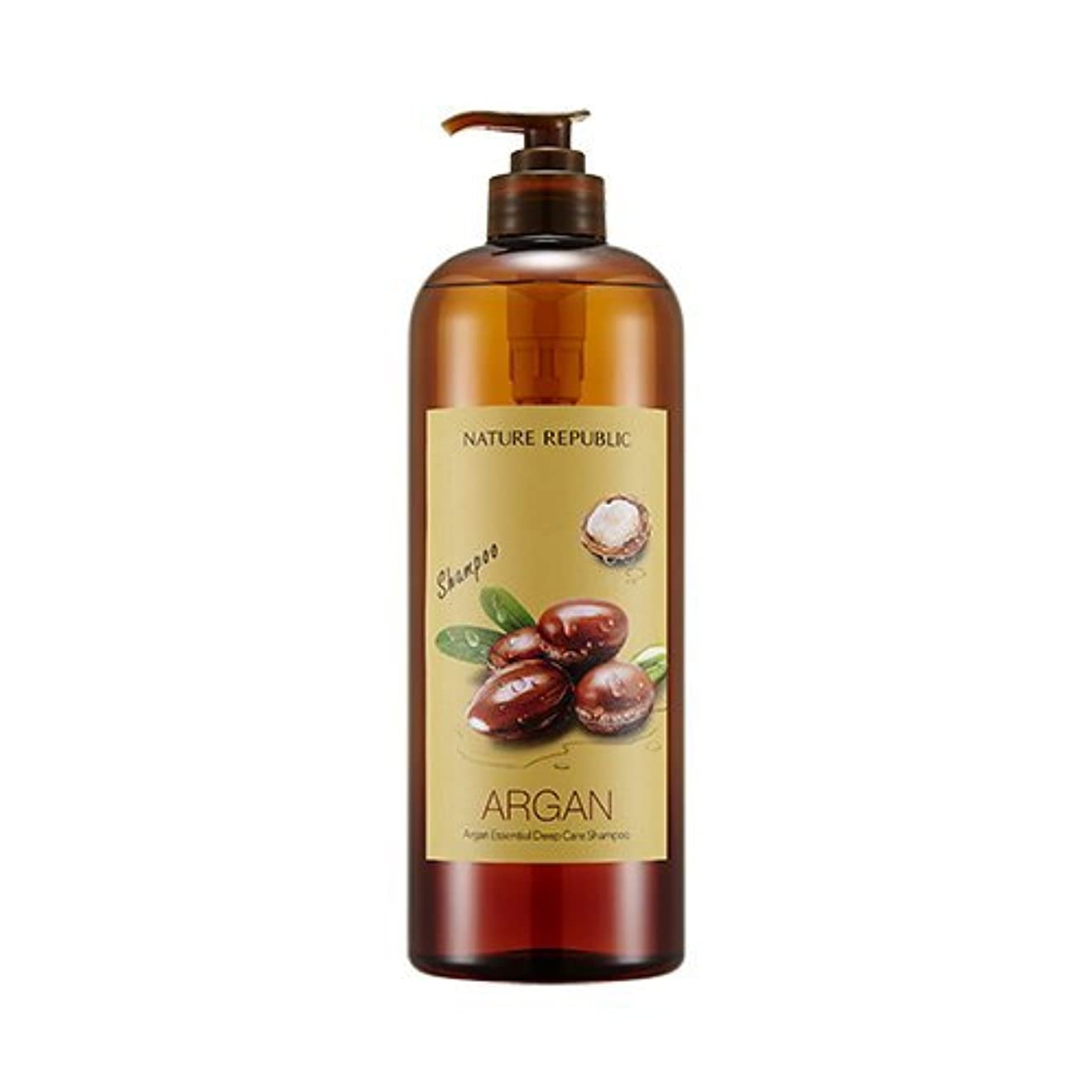 パン屋ピアースブランチNATURE REPUBLIC Argan Essential Deep Care Shampoo 1000? ネイチャーリパブリック アルガンエッセンシャルディープケアシャンプー(大容量) [並行輸入品]