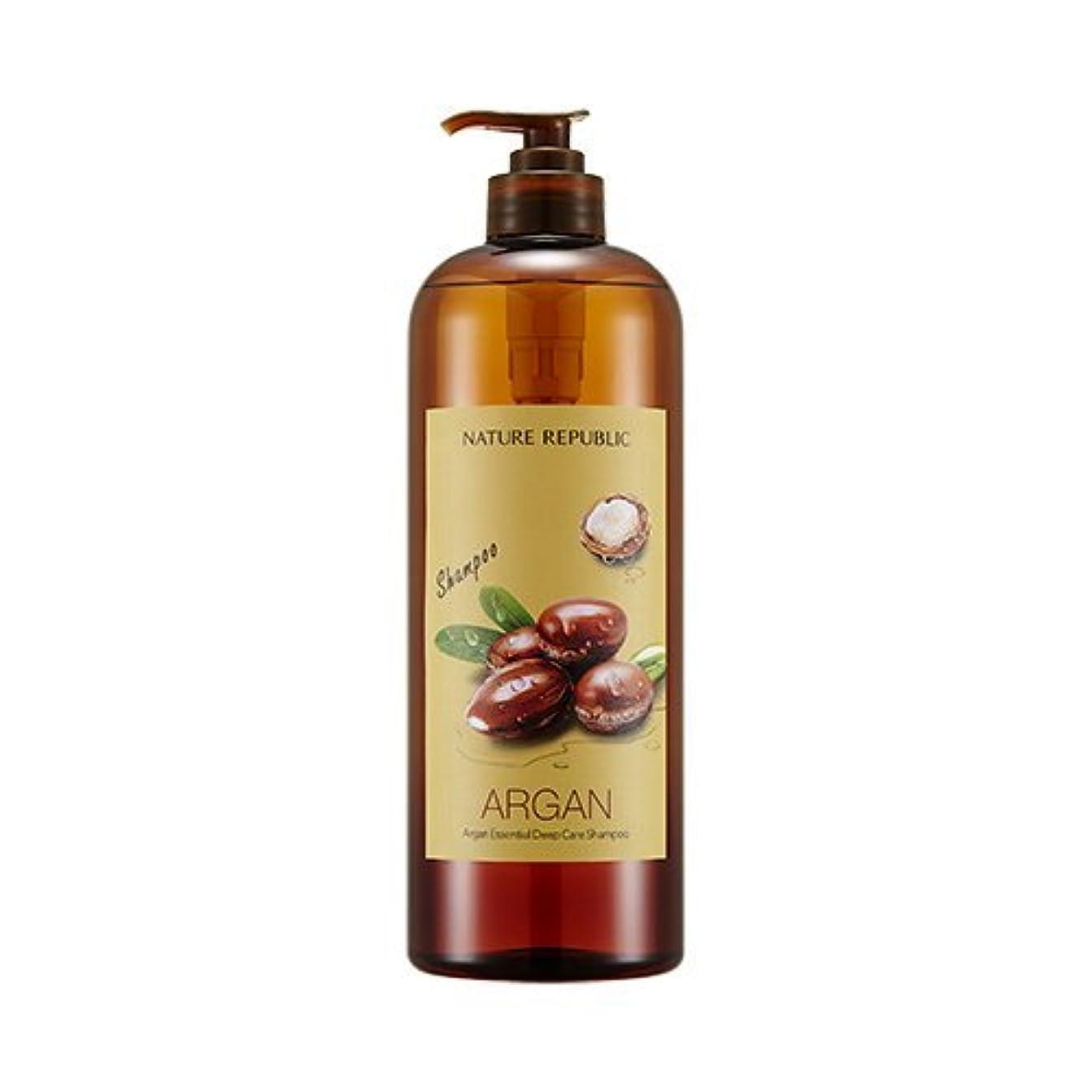 多数のジャケット実質的にNATURE REPUBLIC Argan Essential Deep Care Shampoo 1000? ネイチャーリパブリック アルガンエッセンシャルディープケアシャンプー(大容量) [並行輸入品]