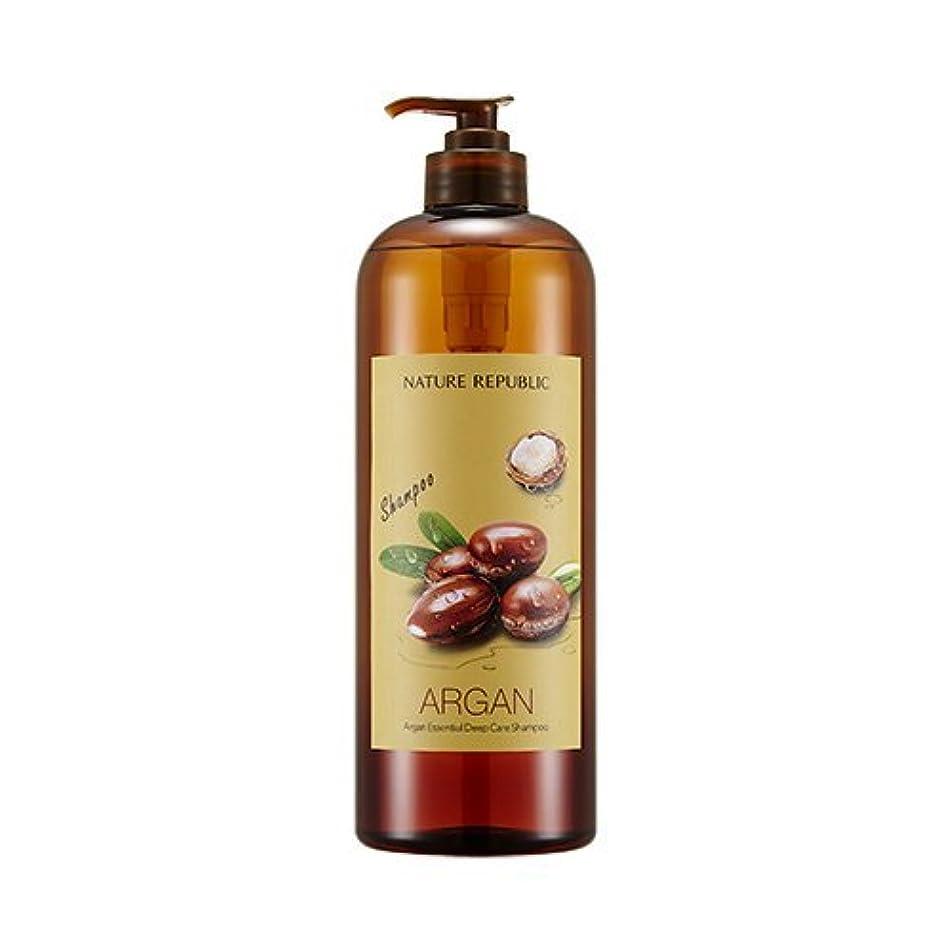 ソロテザー賞NATURE REPUBLIC Argan Essential Deep Care Shampoo 1000? ネイチャーリパブリック アルガンエッセンシャルディープケアシャンプー(大容量) [並行輸入品]