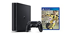 PlayStation 4 ジェット・ブラック 500GB(CUH-2000AB01)+ FIFA 17