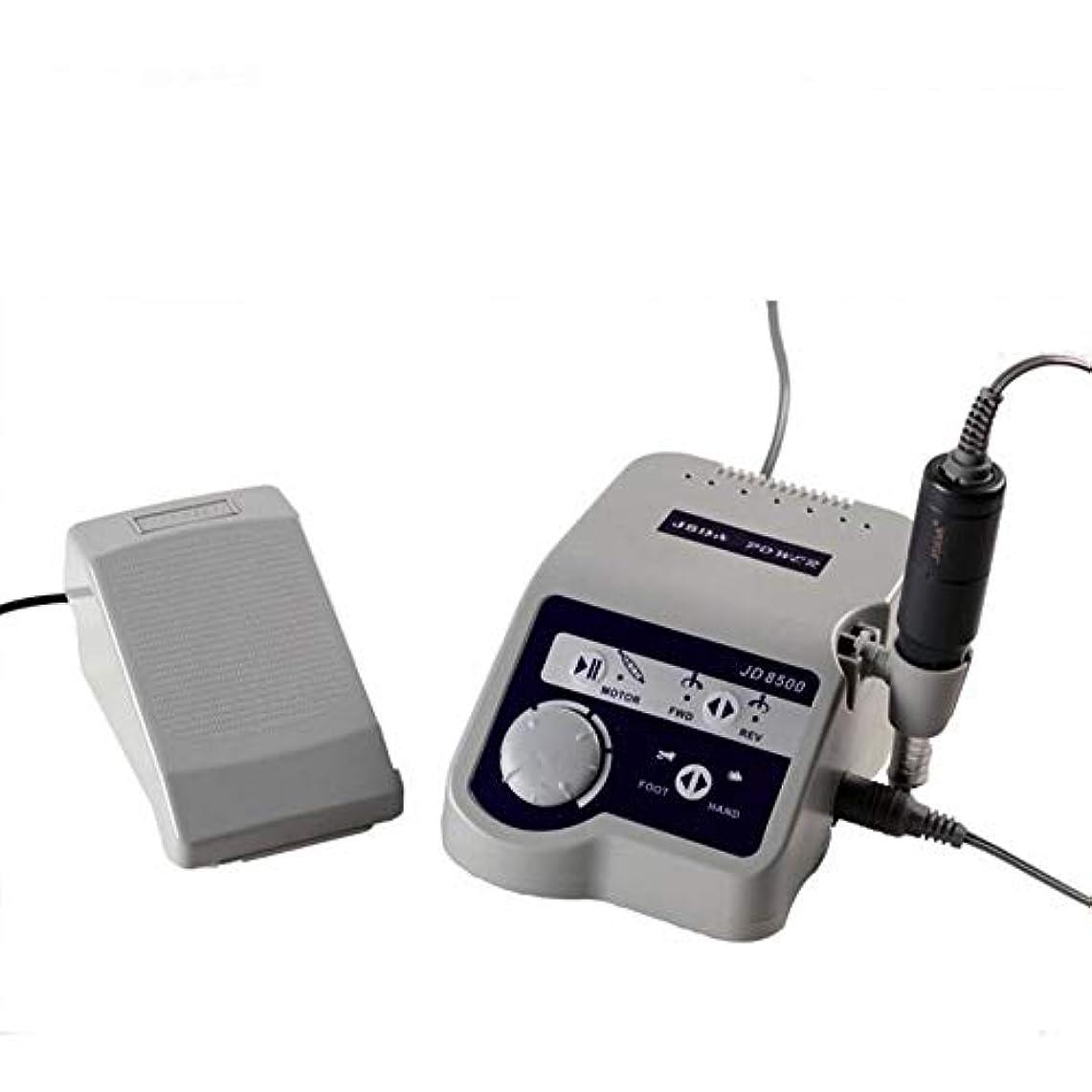 床を掃除する充実鋭くネイルドリルマシン、研磨ツールプロフェッショナル65W 35000 RPM電気ネイルドリルマニキュアツールペディキュアポリッシャーマシンネイルズアート用品