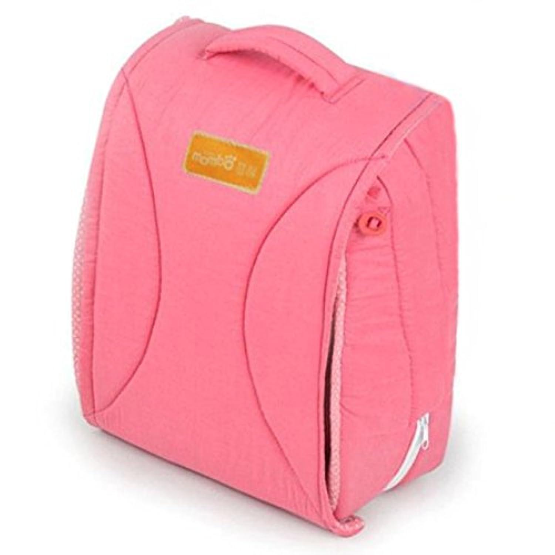 Fu-Memo ベビーベッド 添い寝 布団 折り畳み 持ち運び 可能な ポータブル ベッド (ピンク)