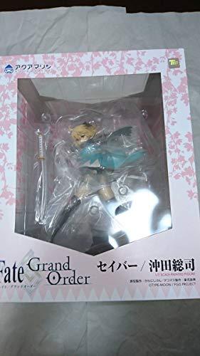 未開封Fate/Grand Order セイバー/沖田総司 1/7スケール ABS&PVC製 塗装済み完成品フィギュア