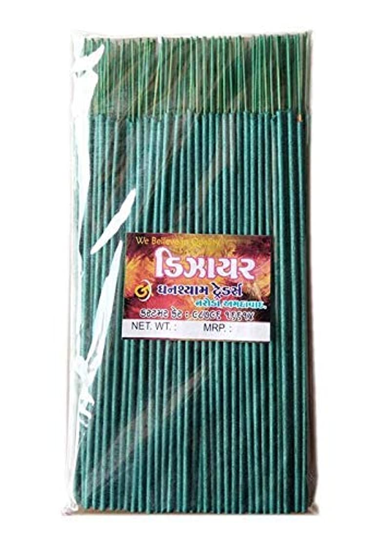 感嘆符伝染性の警告Divyam Dizer Incense Stick/Agarbatti -Green (250 GM. Pack)