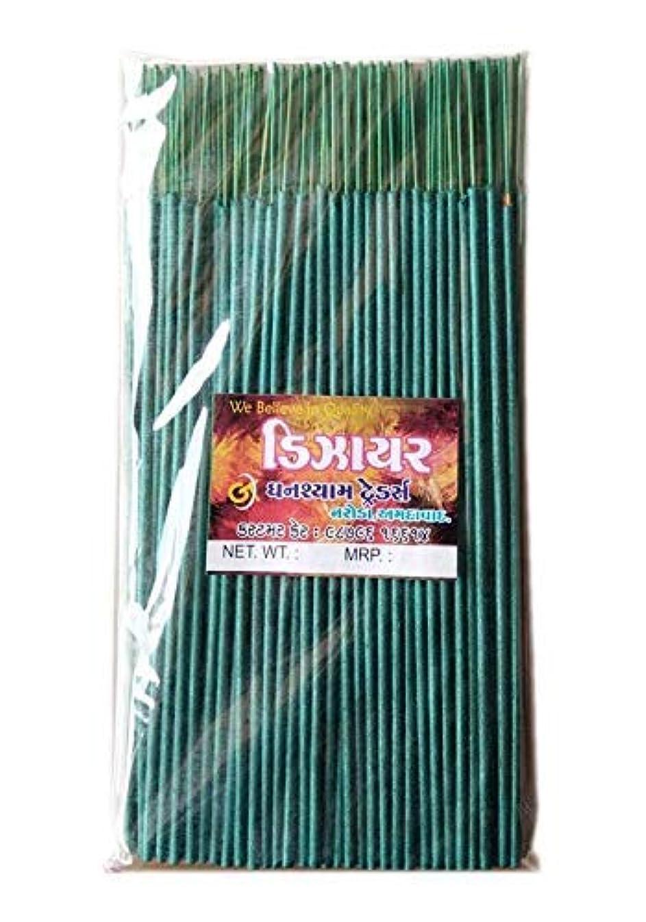愚かレポートを書く針Divyam Dizer Incense Stick/Agarbatti -Green (250 GM. Pack)
