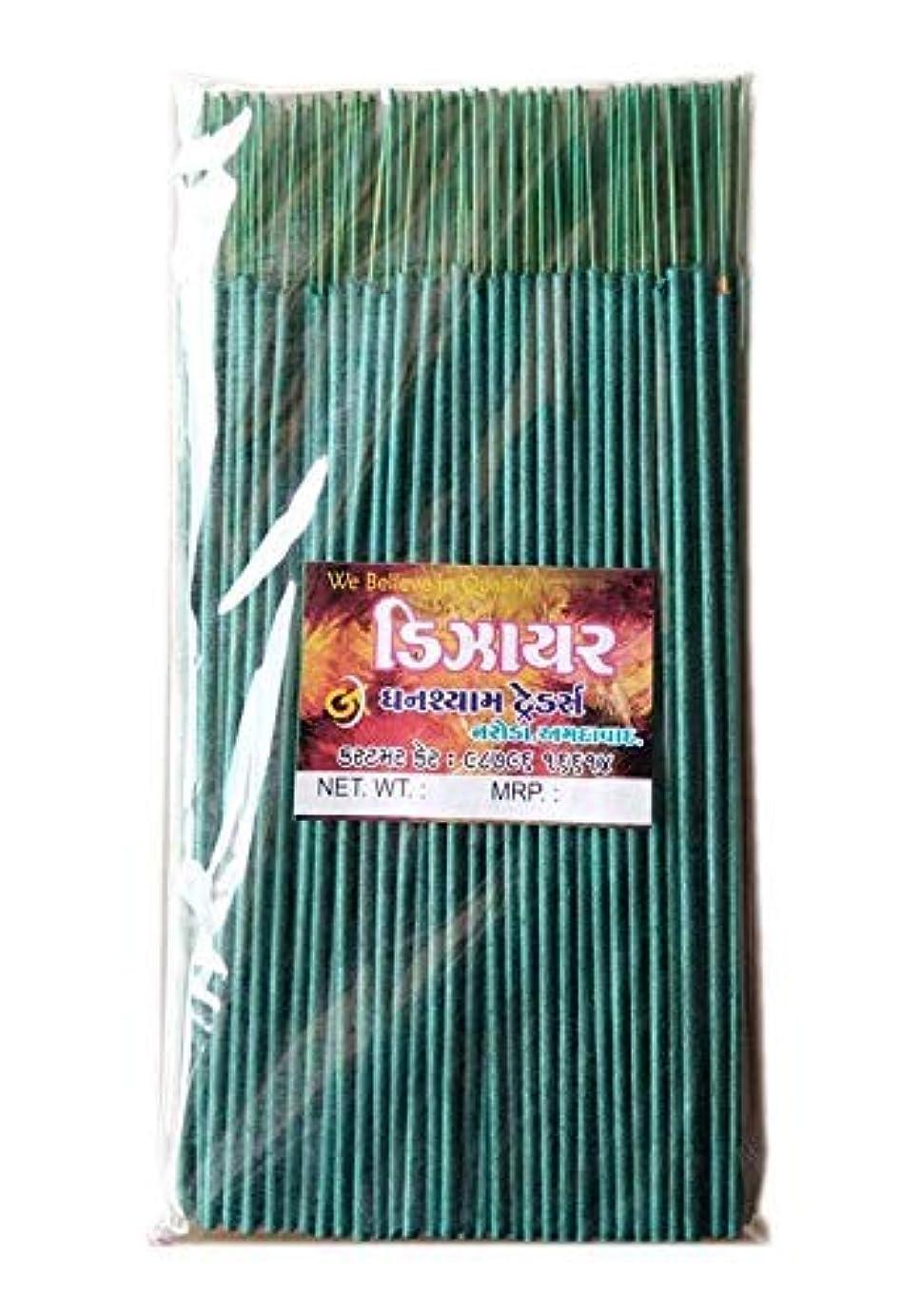 リスク移動するほうきDivyam Dizer Incense Stick/Agarbatti -Green (250 GM. Pack)