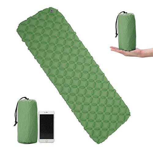 [해외]에어 매트 CAMTOA 공기 침대 캠핑 매트 컴팩트 습기 방지 패드 크기 193 × 59 × 6cm 도보 아웃 도어 레저 자전거 여행 야외 활동 풍선 침대/Air mat CAMTOA air bed camp mat mattress compact moisture proof pad size 193 × 59 × 6 cm walking...