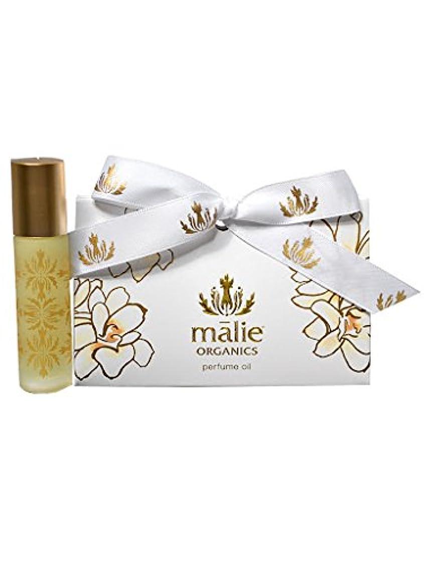 旅行対応シールmalie organics パフュームオイル ロールオン 香水 オーガニック 10ml ピカケ [並行輸入品]