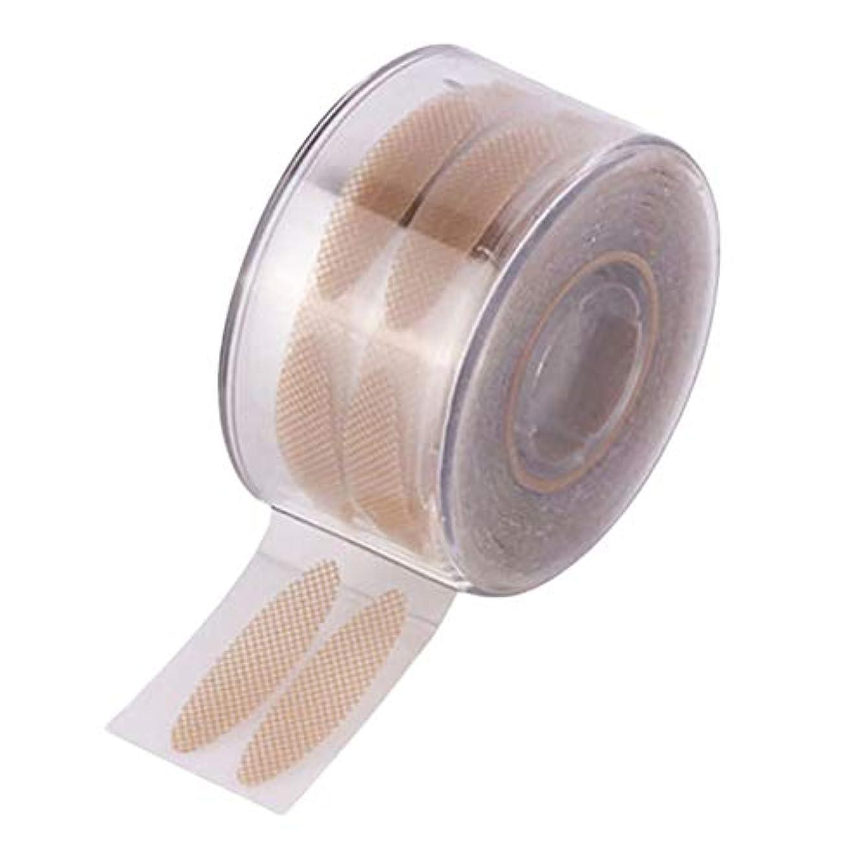 しなやか親漏れSunite まつ毛テープ 目に見えない 300組 繊維 二重まぶた レース メッシュ 粘着性なし ナチュラル 自然 (A)
