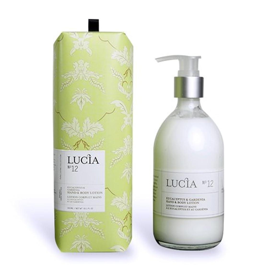 LUCIA Collection ハンド & ボディローション No.12 ユーカリプタス & ガーデニア Eucalyptus & Gardenia Hand &Body Lotionルシア コレクション ピュアリビング...