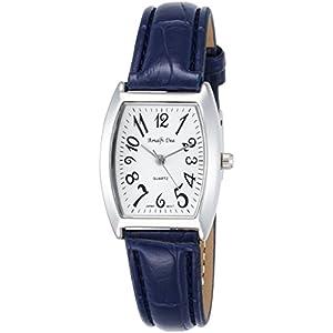 [アリアス]ALIAS 腕時計 アナログ アマルフィ 3気圧防水 革ベルト ブルー A36L28 レディース