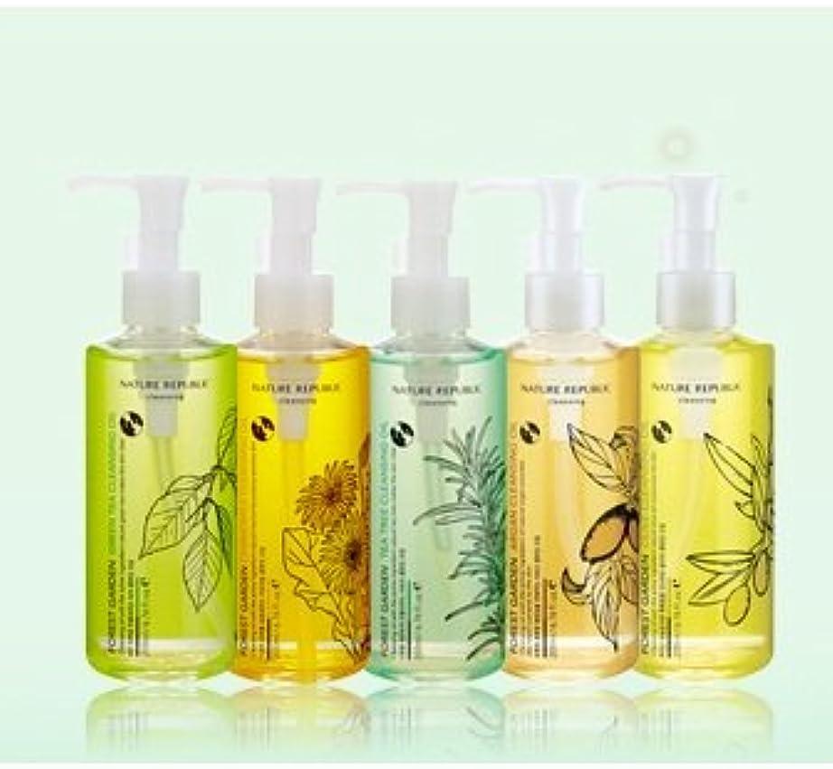 袋フリッパー袋ネイチャーリパブリック フォレストガーデンクレンジングオイル[Forest Garden Cleansing Oil] オリーブ