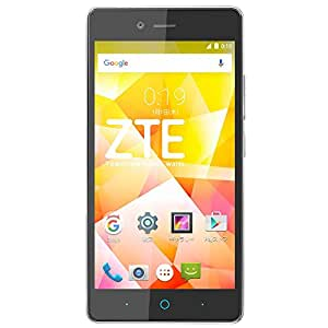 ZTE SIMフリースマートフォン ZTE Blade E01 ブラック BLADE E01 BK