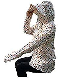 [セオヴェル]THEOVEL レディース フリーサイズ カッパ レインコート カラー 柄 長袖 梅雨 雨具 雨