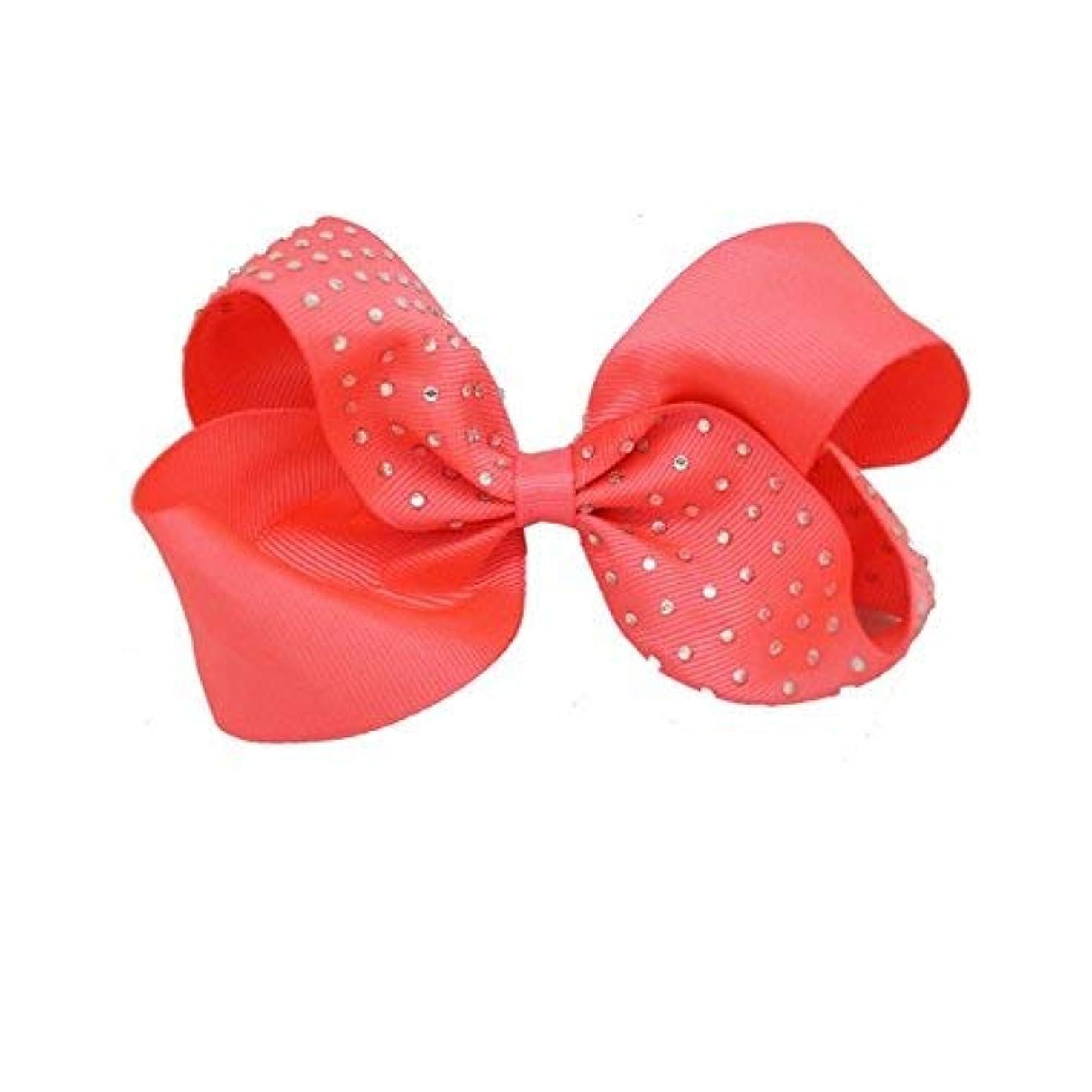 スモッグ定数メジャーHPYOD HOME 小さな女の子の髪の装飾のためのちょう結びのヘアクリップかわいいヘアクリップ