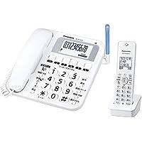 パナソニック コードレス電話機(子機1台付き) ホワイト