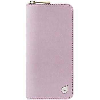 【日本正規代理店品】dreamplus iPhone 6s/6 ケース Zipper お財布付きダイアリーケース ピンク ストラップホール付 DP4401i6