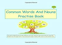 Common Words And Nouns Practise Book