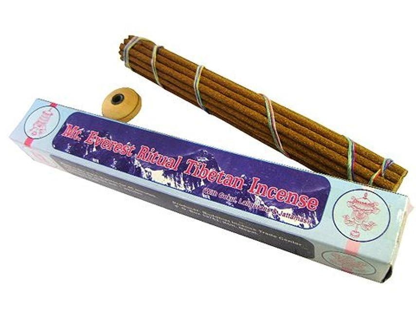 筋豆腐驚くべきNEPAL INCENSE 【Mt.Everest Ritual Tibetan Incenseマウントエベレストリチュアル】