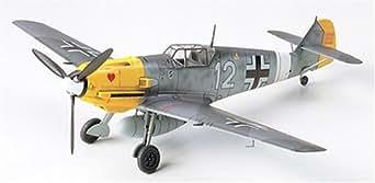 タミヤ 1/72 ウォーバードコレクション No.55 ドイツ空軍 メッサーシュミット Bf109E-4/7 TROP プラモデル 60755