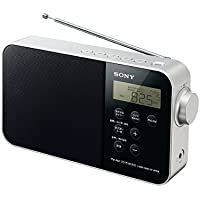 ソニー SONY PLLシンセサイザーポータブルラジオ ICF-M780N : FM/AM/ワイドFM/ラジオNIKKEI対応 乾電池対応 ブラック ICF-M780N B