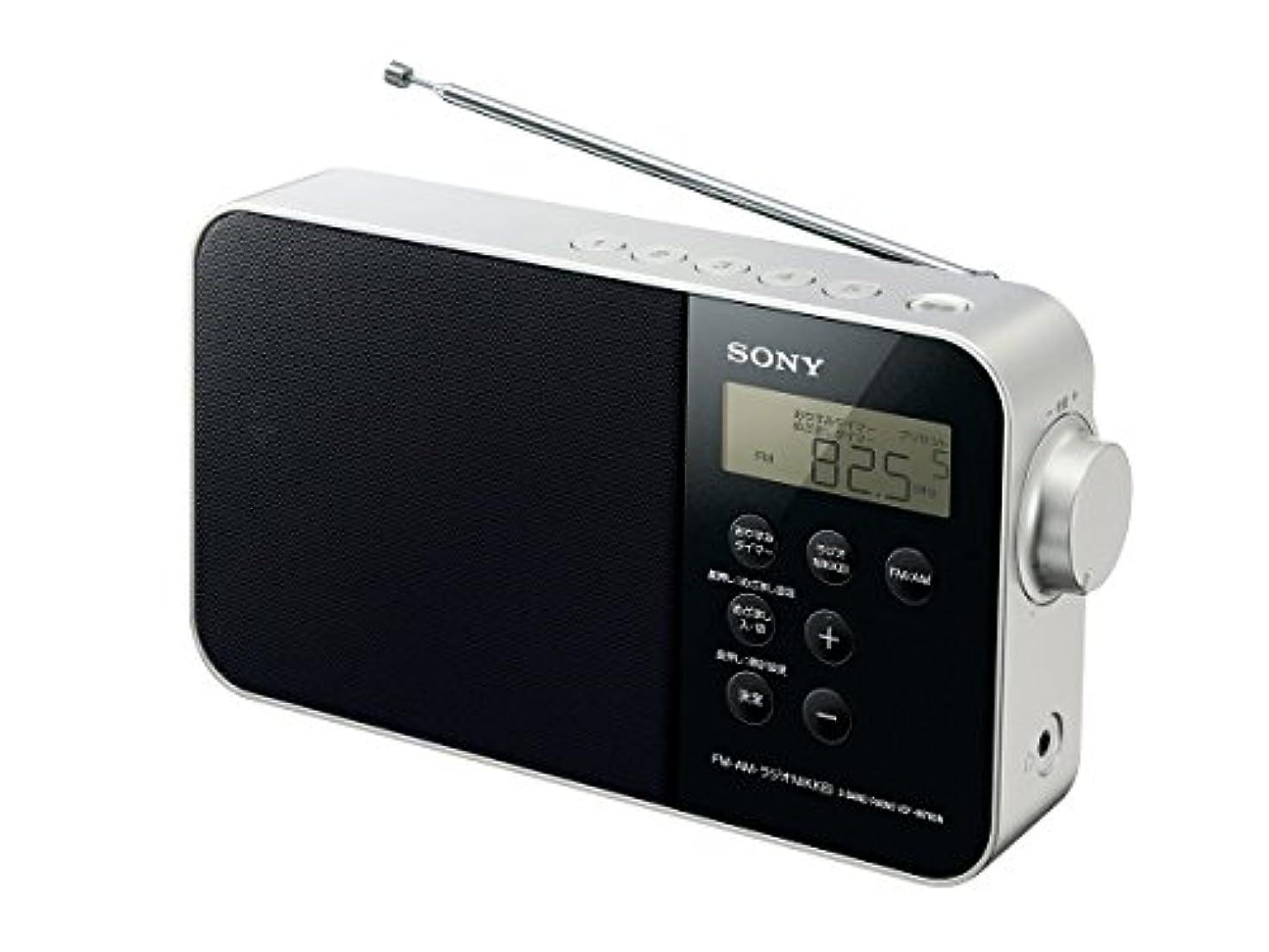 死すべきラダ孤児ソニー SONY PLLシンセサイザーポータブルラジオ ICF-M780N : FM/AM/ワイドFM/ラジオNIKKEI対応 乾電池対応 ブラック ICF-M780N B