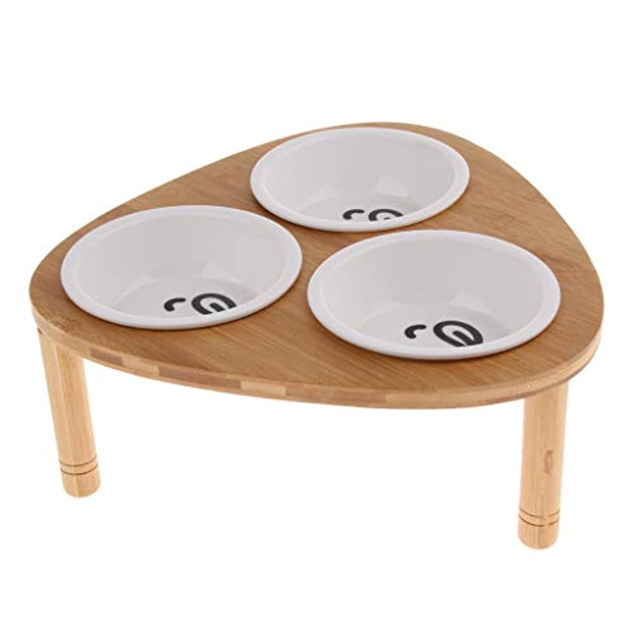 B Baosity ペット 食器 フード ご飯入れ ボウル 食事台 食器 水飲み 食器スタンド フードボウル 実用的