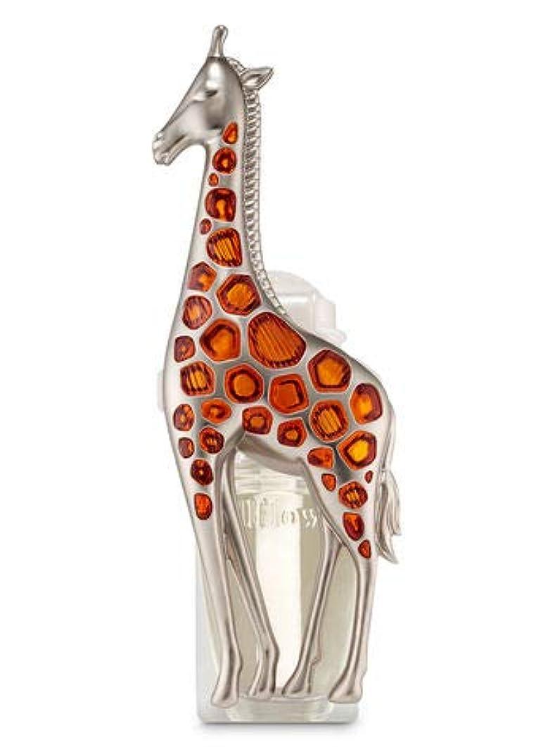 マオリ不名誉ホーム【Bath&Body Works/バス&ボディワークス】 ルームフレグランス プラグインスターター (本体のみ) キリン ナイトライト Wallflowers Fragrance Plug Giraffe Night Light...