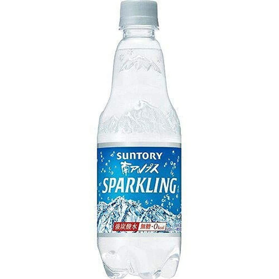 航空会社飛ぶトロリーサントリー 南アルプス スパークリング炭酸水 無糖0cal 500ml×15本