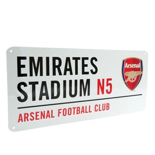 海外サッカー 公式 オフィシャルグッズ ホームスタジアム ストリートサイン 道路標識・看板 全5種 (Arsenal FC / アーセナル) [並行輸入品]