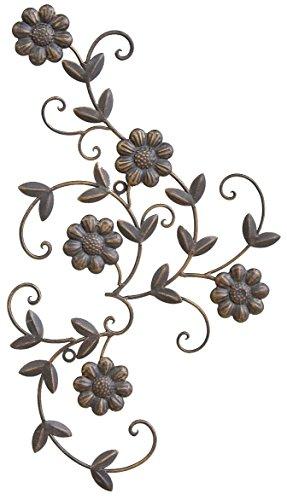 村田屋 アイアン製 お花の壁飾り デイジーウォールオーナメント 6848